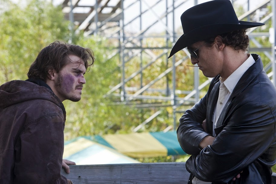 Emile Hirsch and Matthew McConaughey in LD Entertainment's Killer Joe