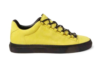 Balenciaga Arena - Creased Yellow Leather cb6be708c