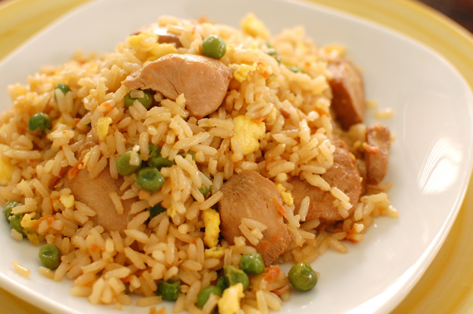 Chicken Fried Rice ~ This is SO good!! - Or so she says...