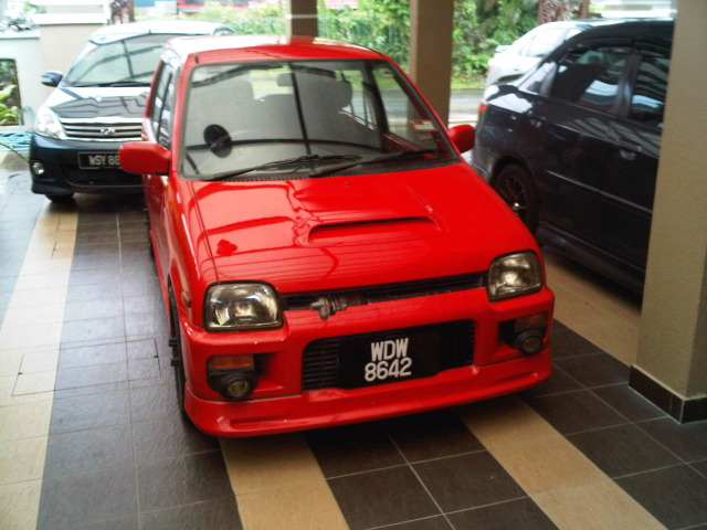 Updated: Perodua Kancil / Daihatsu Mira Photo Shots - BEN9166