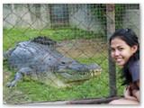 me with Lapu-lapu at Crocolandia