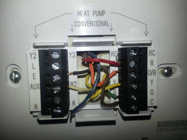 Oil Control For Parallel  pressor as well Trane Weathertron Thermostat Wiring Diagram also 2ydz9 Lennox Elite Series Gas Furnace Giving as well Honeywell Visionpro Th8000 Wiring Diagram together with 568157 Help Setting Up New Honeywell Rth6350. on trane heat pump wiring diagram