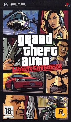 Grand Theft Auto(GTA) Liberty City Stories PSP