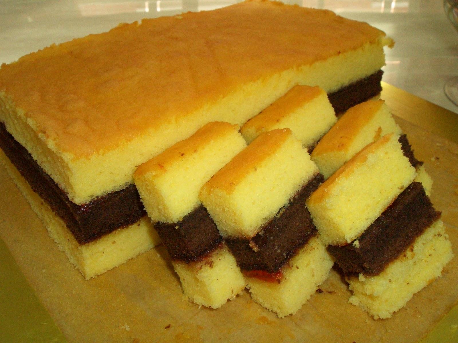 Resep Cake Tanpa Telur Jtt: Wu Lan's Kitchen: Lapis Surabaya Irit Telur (Economic Lapsur