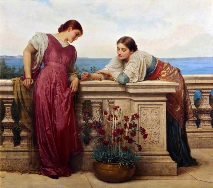 Charles Edward Perugini - Dolce far niente