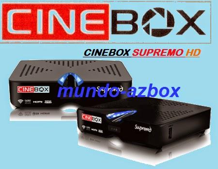 cinebox - Nova atualização  para  seu aparelho da marca  Cinebox    . Data:17/02/2015.  Cinebox