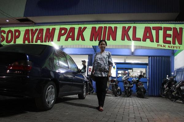 Sop Ayam Pak Min Klaten di Jakarta Barat, Maknyus Tenan!