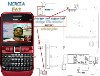 Nokia E63 Not Charging & Charger Not Supported Solution