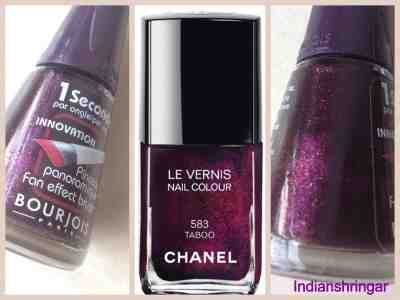 Chanel Taboo dupe Bourjois #9