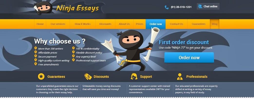 Custom writing NinjaEssays