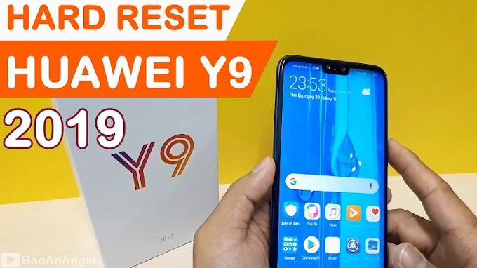 Hướng dẫn Hard Reset Huawei Y9 2019