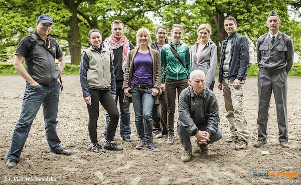 Dziennikarze i blogerzy w komplecie - Wielka Pętla Wielkopolski
