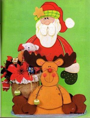 papa noel y reno plano de la web Navidad3p