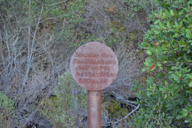 sign informing those of a claim