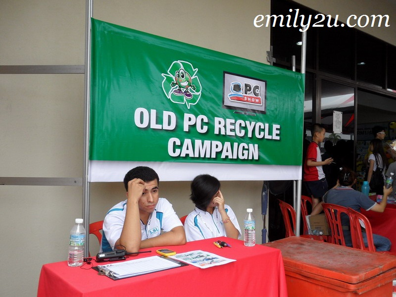 recycle PC campaign