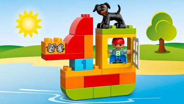 Thỏa sức sáng tạo cùng Lego Duplo 10572 All in One Box of Fun