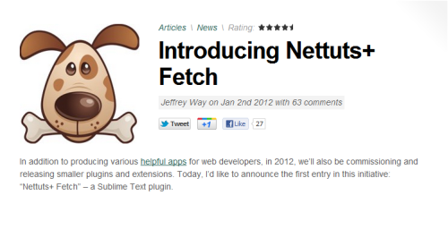 Introducing Nettuts+ Fetch