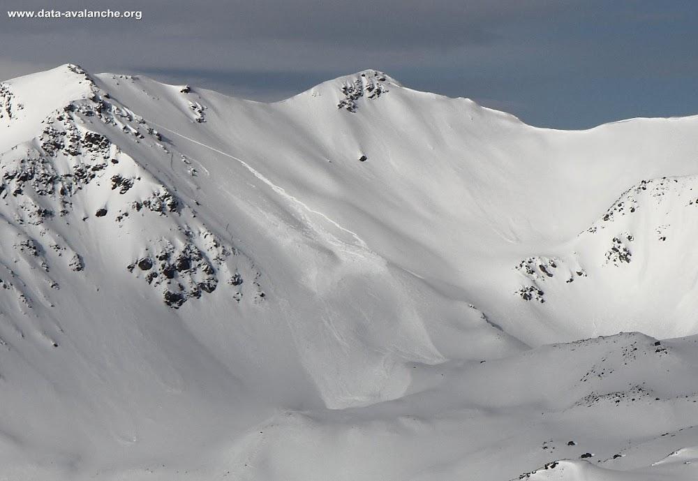 Avalanche Maurienne, secteur Col des Marches, Ruisseau du Jeu ; Côté lac de Bissorte - Photo 1
