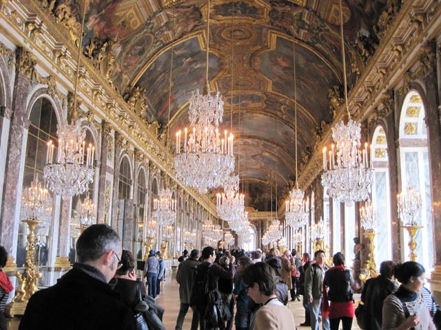 ベルサイユ宮殿シャンデリア