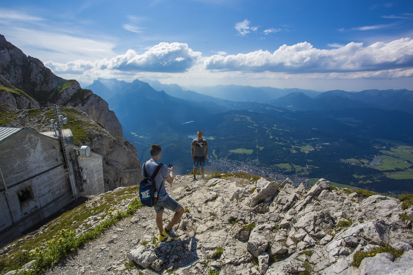Альпийская сказка с большой и весёлой компанией - июль 2015
