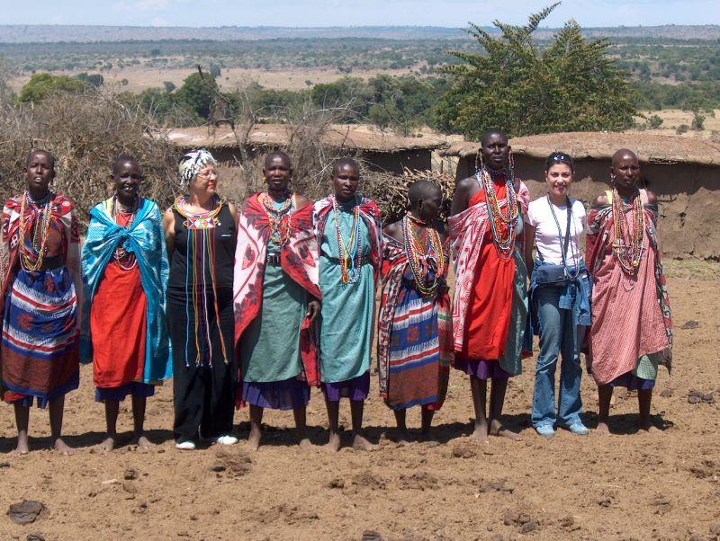 Maasai Mara yerlileri