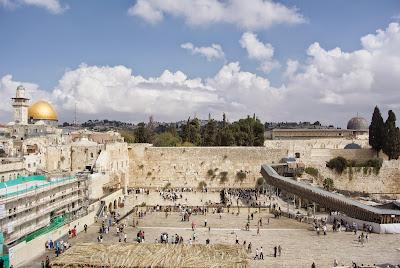 Jérusalem Mur des lamentations, jour 1
