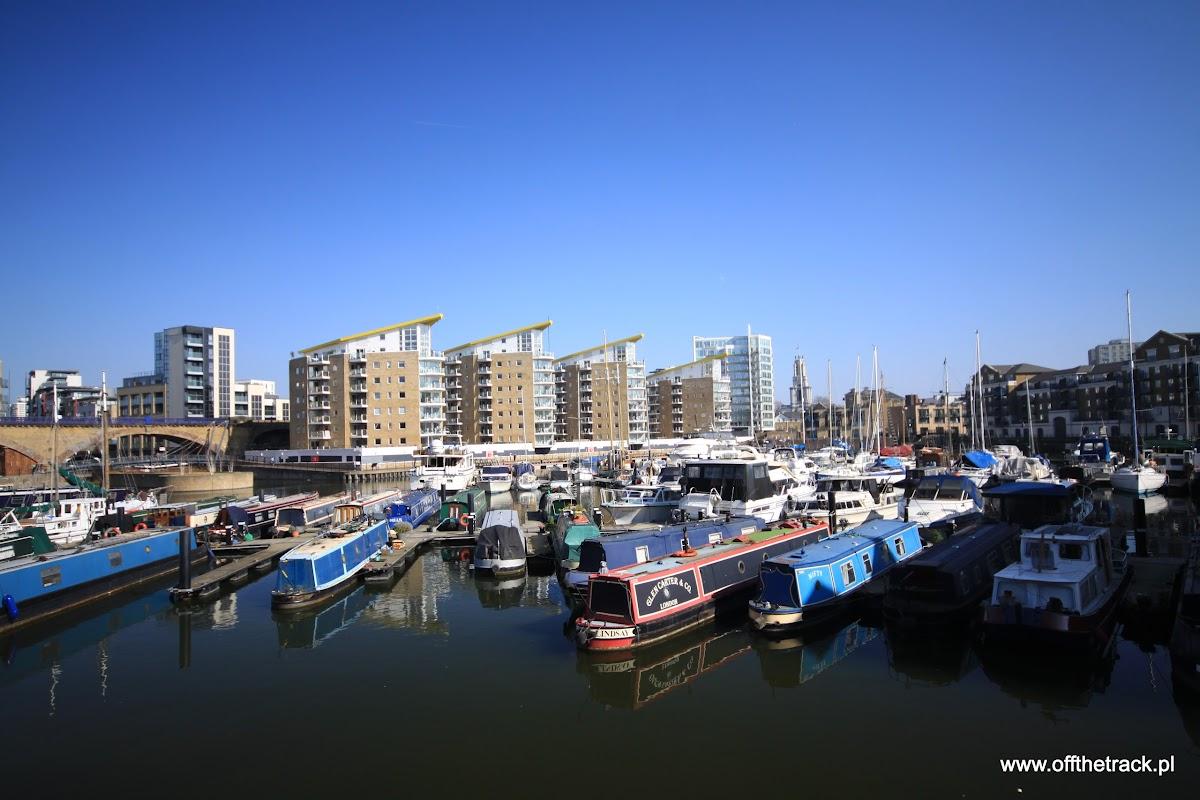 Little Venice i Regent's Canal, Londyn, Limehouse Basin