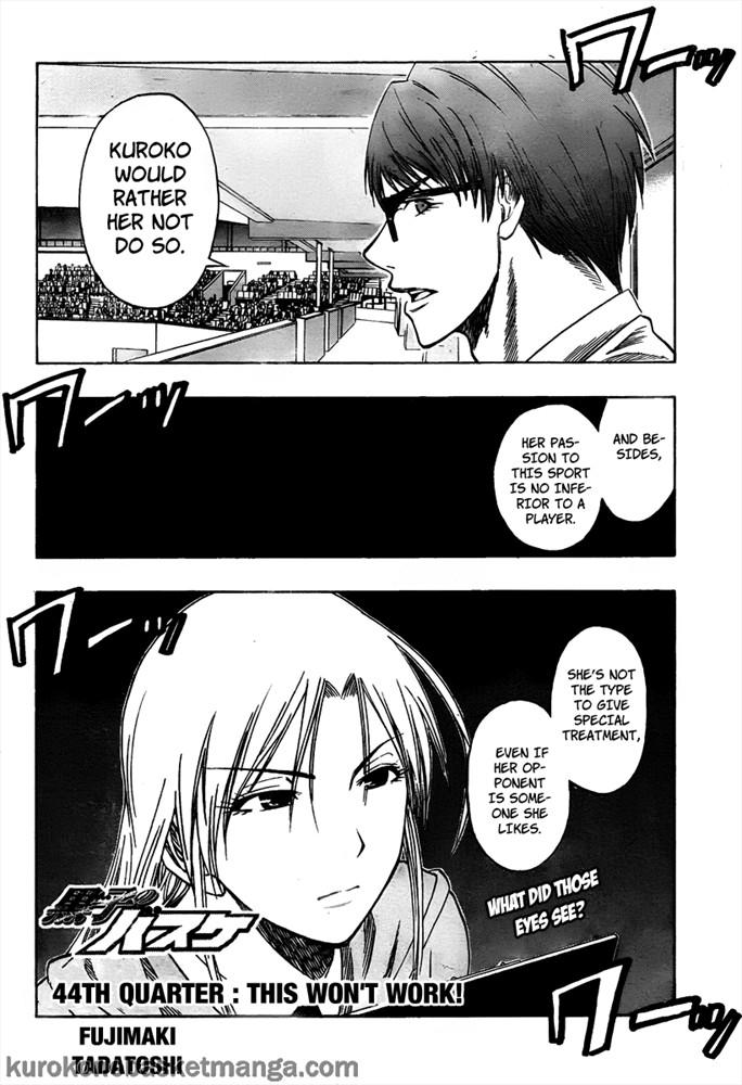 Kuroko no Basket Manga Chapter 44 - Image 02