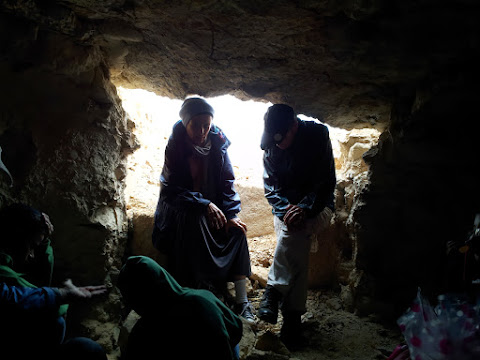 סיור מודרך במערות הקבורה