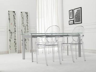 Transparant stol