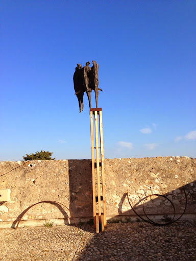 Germaine Richrer's heroic sculptures at the Picasso Museum, Antibes. From 100 Places in France Every Woman Should Go