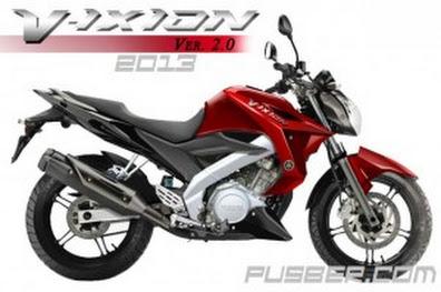 Harga Yamaha Vixion Terbaru 2013