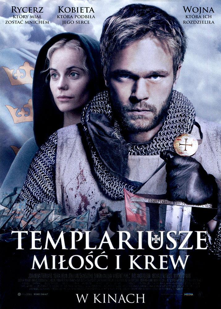Ulotka filmu 'Templariusze. Miłość i Krew (przód)'