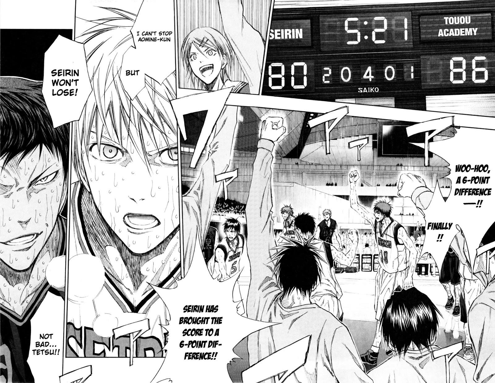 Kuroko no Basket Manga Chapter 132 - Image 14-14