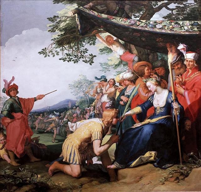 Abraham Bloemaert - Theagenes and Chariclea