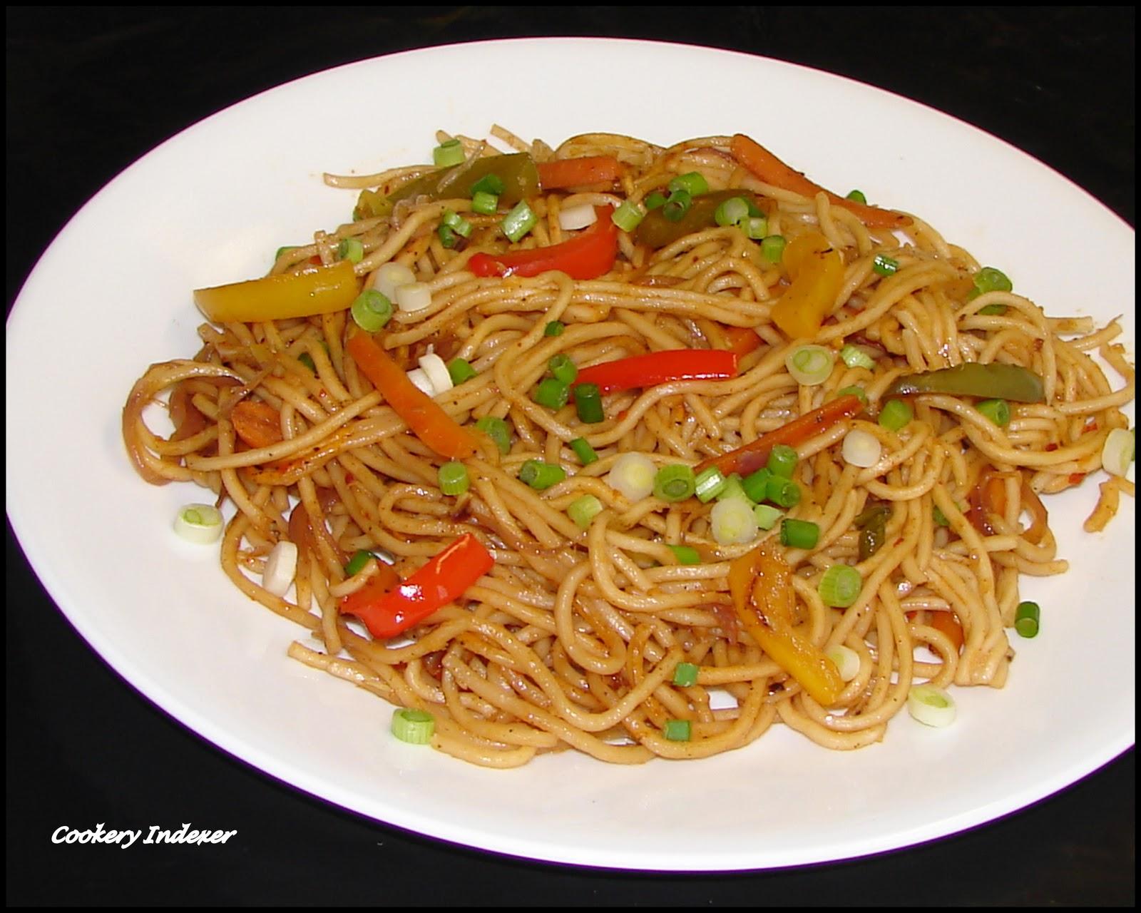 Regional indian cuisine blogroll vegetable hakka noodles indo vegetable hakka noodles indo chinese style forumfinder Choice Image