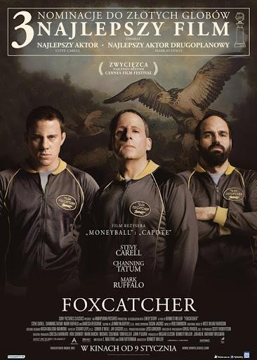 Polski plakat filmu 'Foxcatcher'
