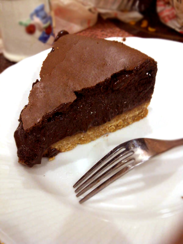 Öldüren Cazibe : Deep Dark Chocolate CheeseCake