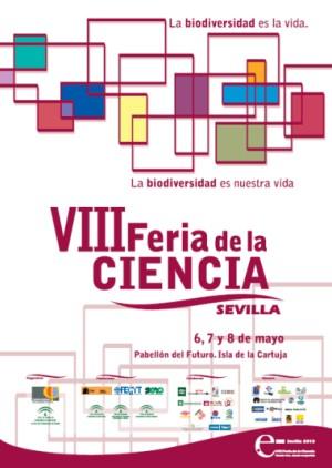 Cartel VIII Feria de la Ciencia