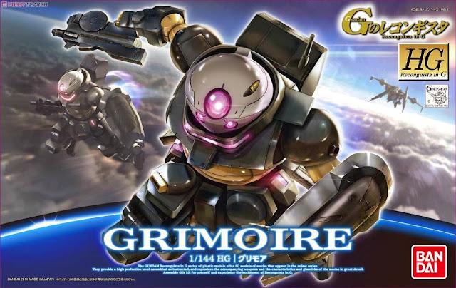 Đồ chơi Lắp ghép Gundam Grimoire HG Reconguista in G 1/144 dành cho trẻ trên 8 tuổi