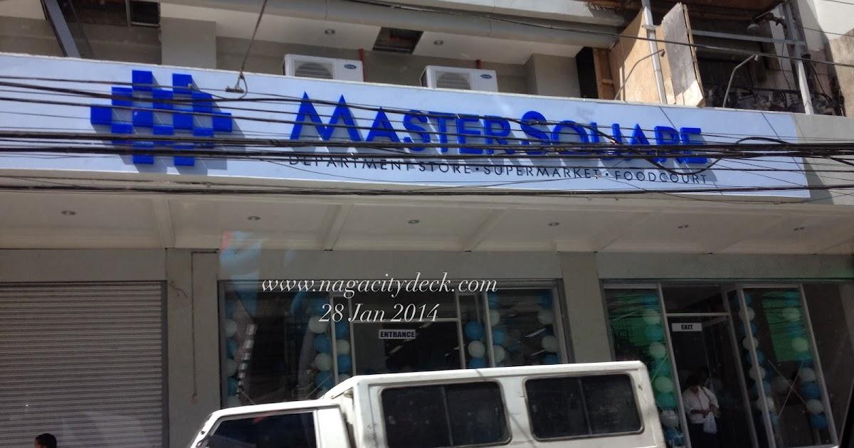 Re Opening Of Master Square Naga City Deck