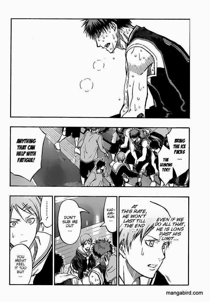 Kuroko no Basket Manga Chapter 265 - Image 06