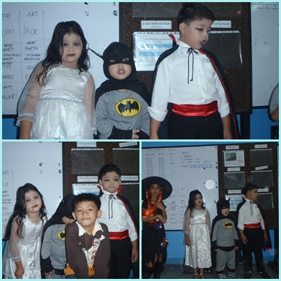 kids in doodles, Halloween, trick or treat, kids
