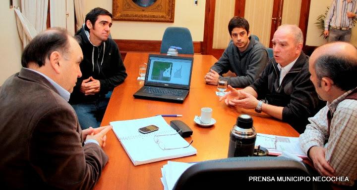Arquitecto marplatense Guillermo De Diego Necochea una pista de Skatepark