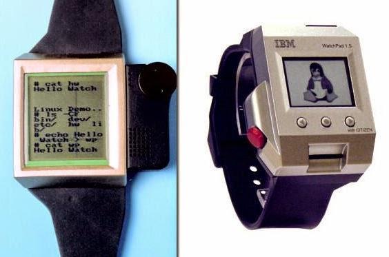 Selección 091 Estos eran los primeros smartwatches con Linux