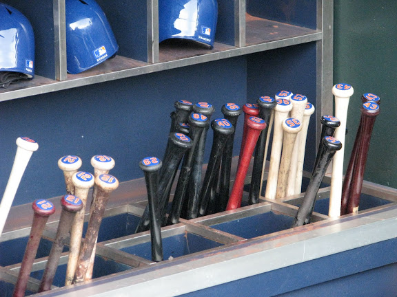 The bats of the New York Mets