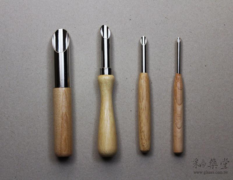 陶藝工具O2-00-A 打洞鑽洞器組(4支1套)