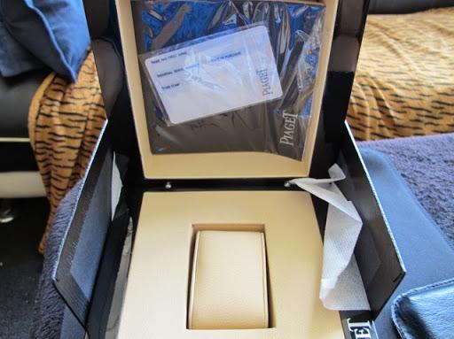 Bán đồng hồ Piaget Polo – dây da – vàng hồng 18k – size 43mm