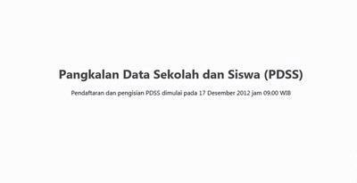 tutorial pengisian PDSS SNMPTN 2013