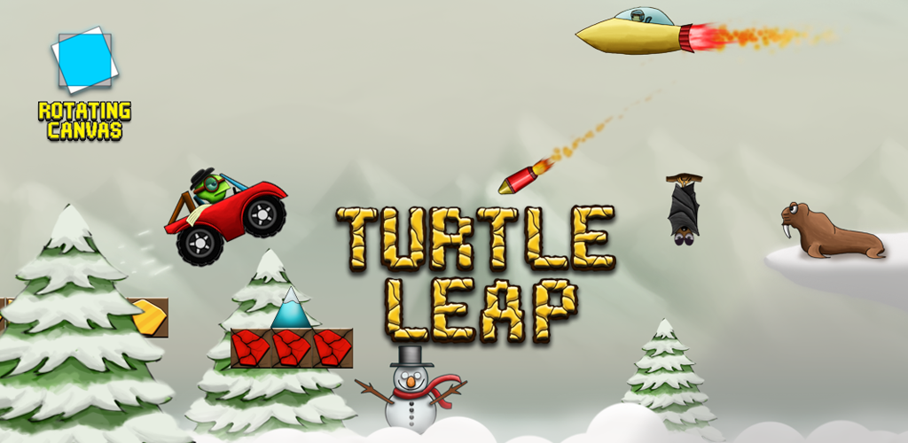 Turtle Leap Banner